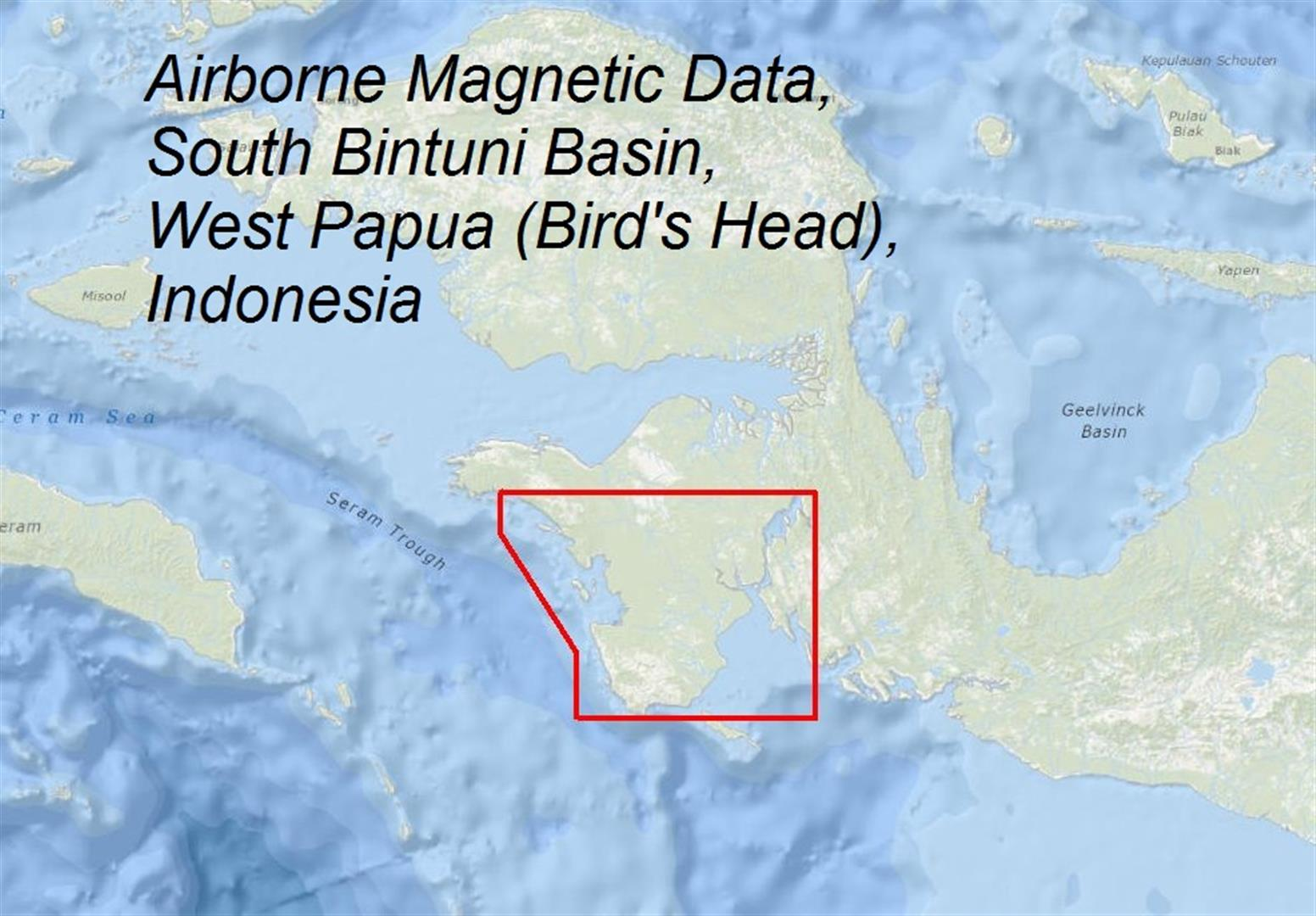 Multi-client Airborne Magnetic Data, South Bintuni Basin, West Papua (Bird